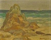 shore of st. thomas by henry stephens eddy