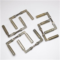 door handles (set of 6) by walter gropius