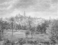 blick auf kronberg by erwin haug