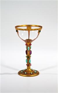 stängelglas (from byzantinische gläser) by carl-georg von reichenbach
