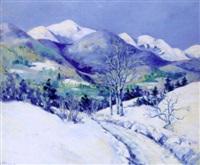 snowy landscape by edward k. williams
