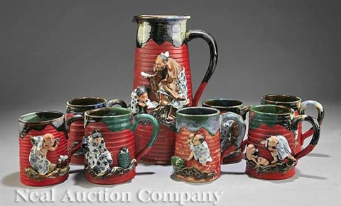 pitcher mugs 8 works by inoue ryosai