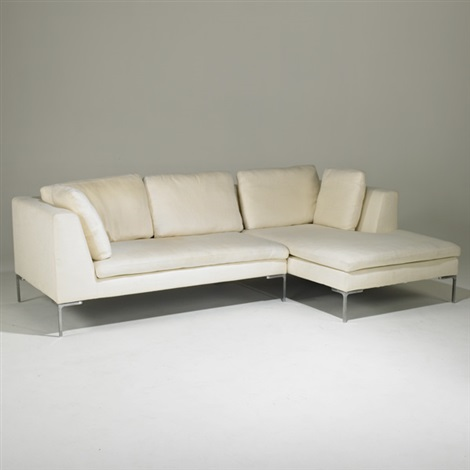Charles Two Piece Sectional Sofa By Antonio Citterio