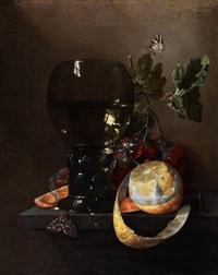 fruchtstilleben mit grossem römerglas by anonymous-dutch (17)
