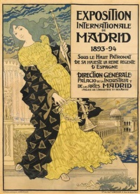 exposition internationale de madrid, 1893-94 by eugène grasset