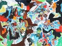 abstract composition by finn pedersen