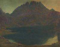 le lac majeur by gaston prunier