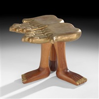 foot stool by pedro friedeberg