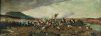 escena de batalla by salvador martínez cubells