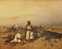 rastande beduiner by tadeusz ajdukiewicz