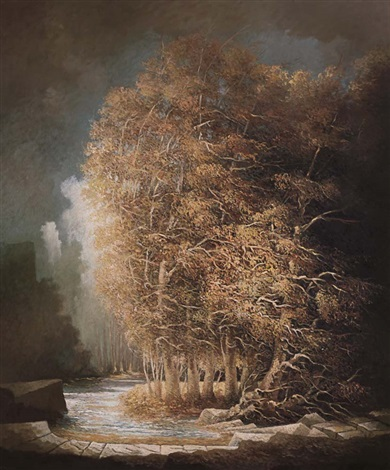 alberi dautunno by tomaso tommasi