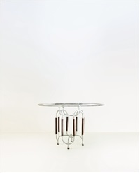 tavolo (della serie trilogia)(dining table from the trilogia series) by aimore isola, guido drocco, luciano re and roberto gabetti