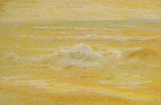 coastal scene by otto stark