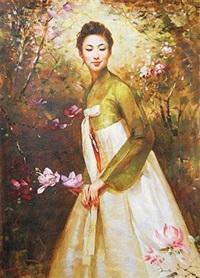 花之间 by cui dinan