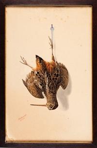 nature morte: woodcock by george luis viavant
