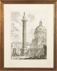 colonna trajana by giovanni battista piranesi