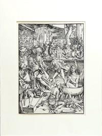il martirio di san giovanni evangelista by albrecht dürer