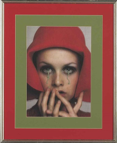 hommage to francesco scavullo twiggy by francesco vezzoli
