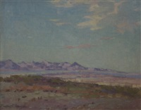 desert landscape by bertha menzler peyton