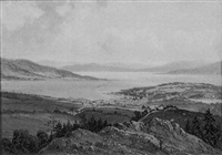 the clyde rothesay from barone hill by albert dunington