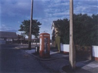 phonebox graffiti, belfast by paul graham