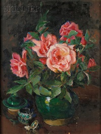 still life with roses by florence julia bach