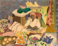 tunesischer obstverkäufer by otto rodewald