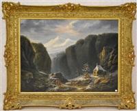 paysage montagneux by maximilien lambert gelissen