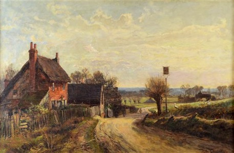 old pub on the moor maidenhead by walter h goldsmith