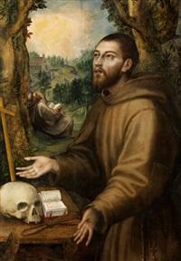 heiliger franz von assisi by girolamo muziano