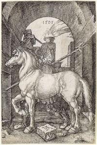 il piccolo cavallo by albrecht dürer