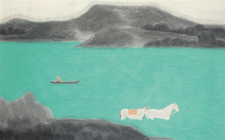 山水 landscape by huang dan