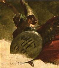 erzengel michael mit schild by waldemar kolmsperger the elder