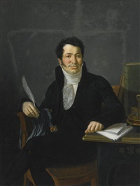 PORTRAIT OF A GENTLEMAN, PROBABLY THE CHEVALIER...