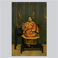 seated chinese woman by henry alexander