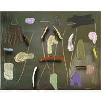 untitled, tricot and untitled (3 works) by joseph stabilito