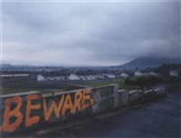 graffiti, ballysillan estate, belfast by paul graham