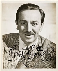 portrait by walt disney