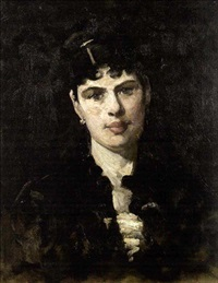 portrait of a lady by william turner dannat