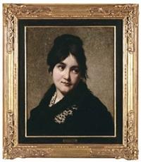ritratto femminile by egisto lancerotto