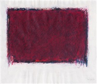 flächenraum (rot auf weiß) by bernd berner