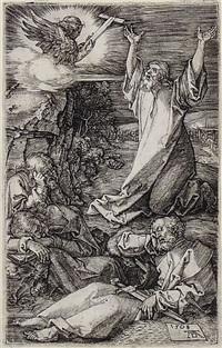 cristo sul monte degli ulivi by albrecht dürer