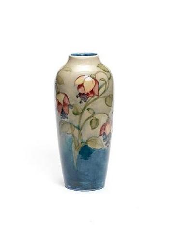 Fuschia Vase By Walter Moorcroft On Artnet