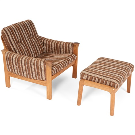 Chair And Ottoman By Cado Modern Furniture