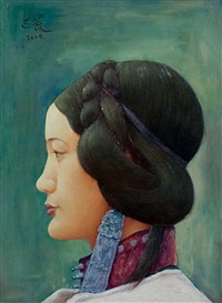 portrait by ba huang