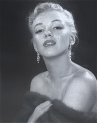 portrait of marilyn monroe by edward clark