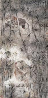 birds and bamboo by jiang jianlin