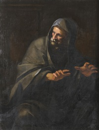 allegorie des winters by giovanni francesco romanelli