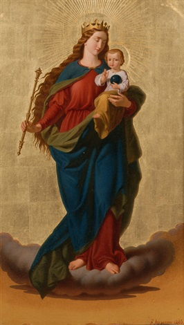 madonna and child by ferdinand axmann