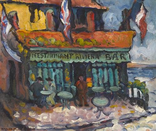 restaurant in villefranche sur mer by wanda marie bon